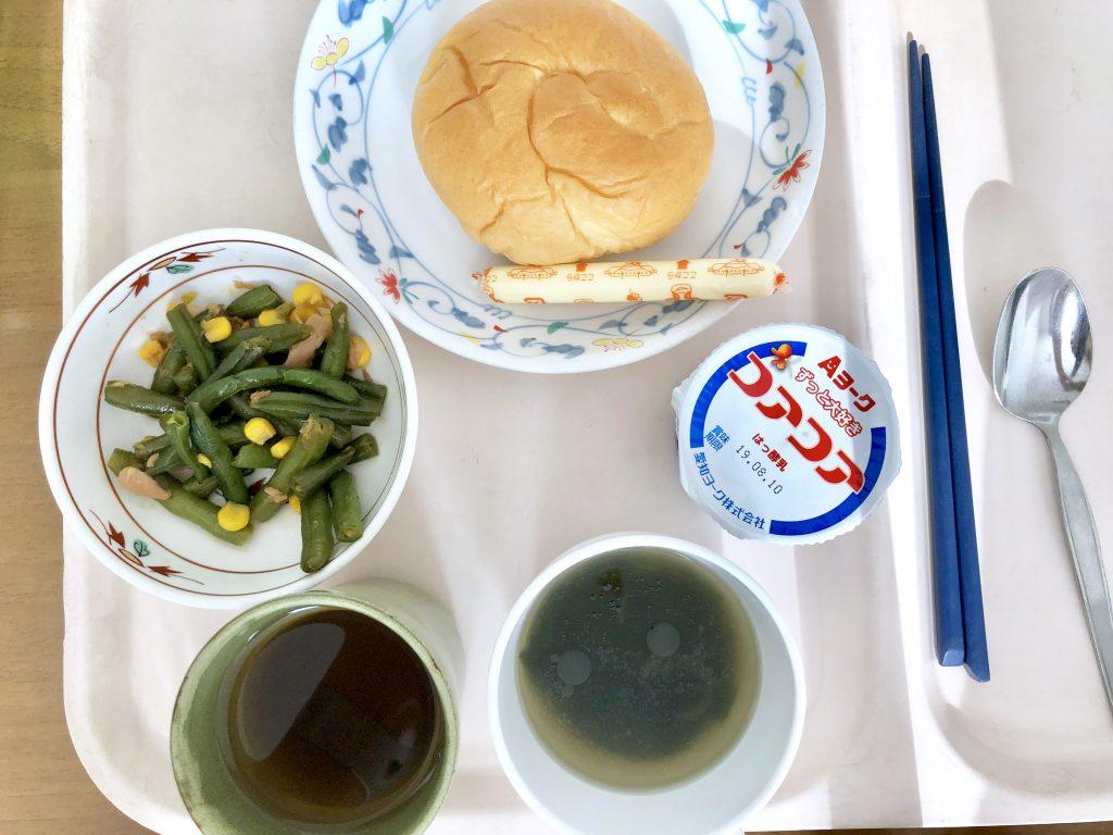 和食と洋食の境目がわからない朝ごはん